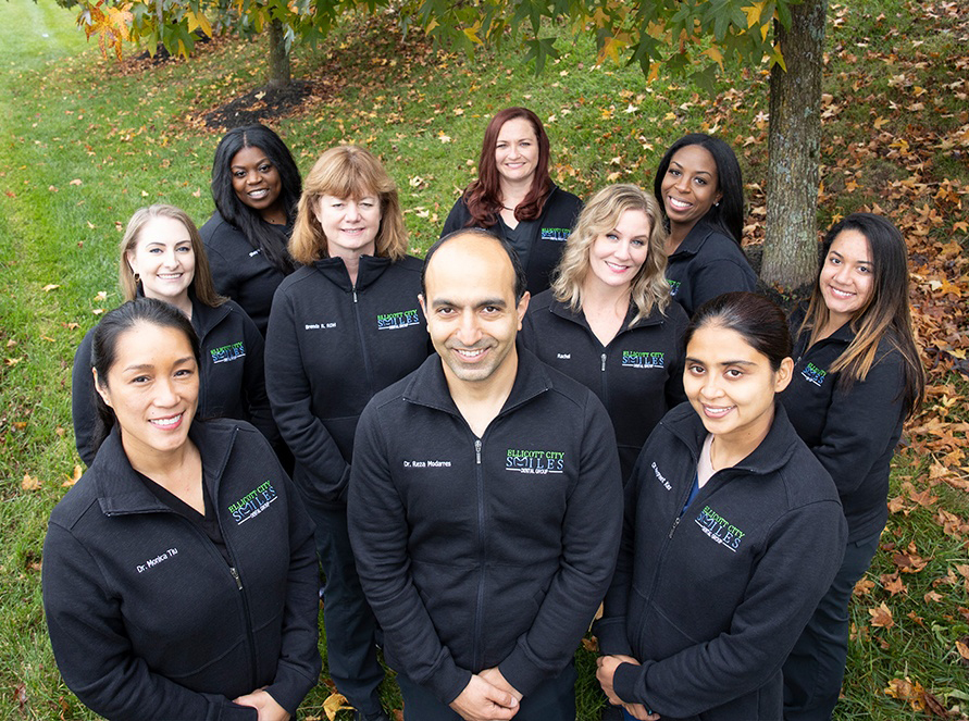 The Ellicott City Smiles Dental Group team