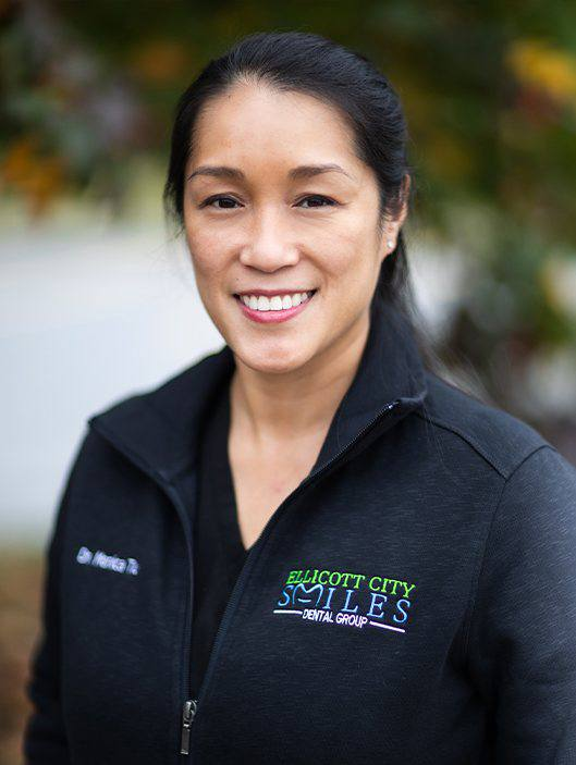Ellicott City dentist and dental anesthesiologist Monica Tiu D D S